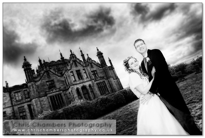 Allerton castle wedding photography from Chris Chambers. Allerton castle recommended wedding photographer