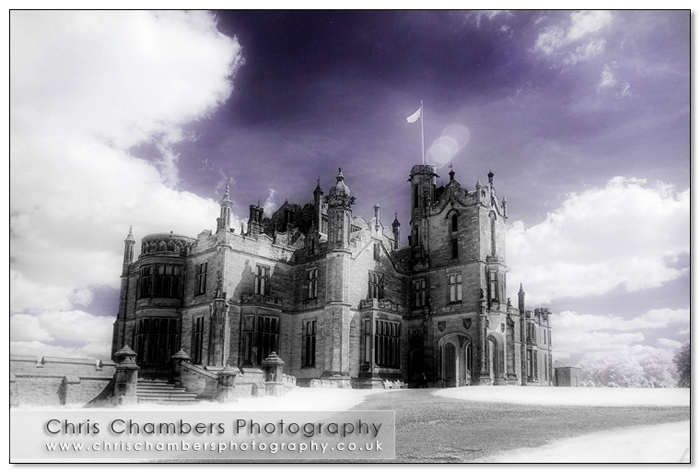 Allerton Castle in Infra Red