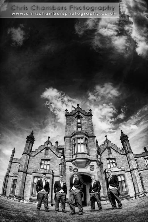 Allerton castle, North Yorkshire wedding venue. Photography  Chris Chambers www.chrischambersphotography.co.uk