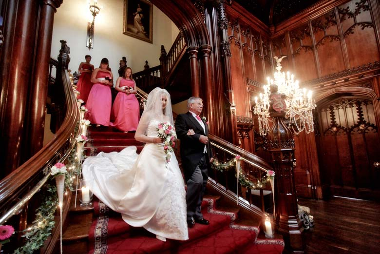 Allerton Castle wedding photography from Chris Chambers