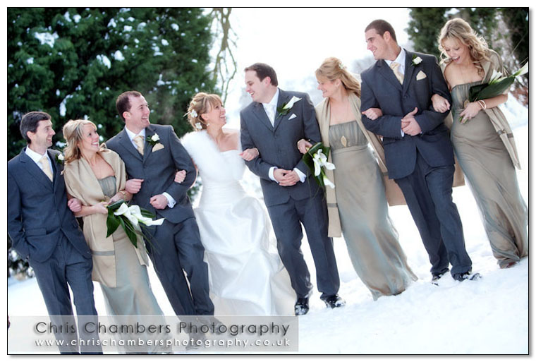 Hazlewood Castle in York North Yorkshire, wedding venue. Award winning wedding photography from Chris Chambers