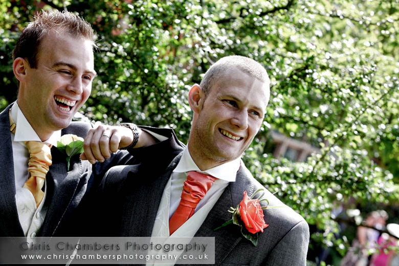 Wedding photography at Hodsock Priory