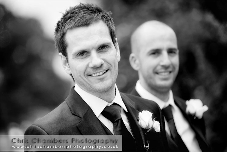 The groom at Hodsock Priory, photography Chris Chambers