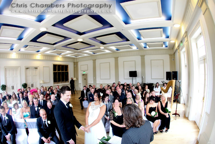 Hodsock Priory near Blyth and Worksop, stunning wedding venue. Wedding photographs provided by Chris Chambers, wedding photographer