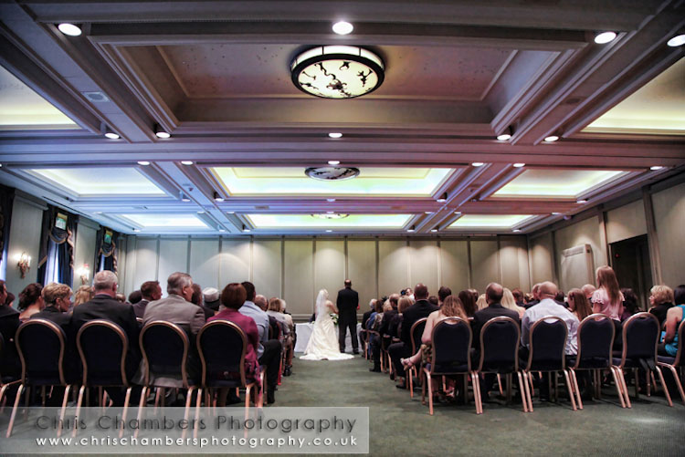civil wedding at Oulton Hall