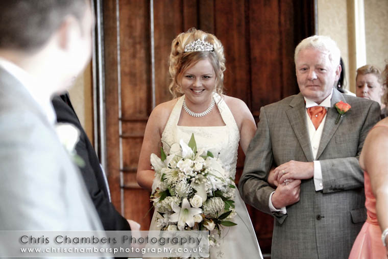 Castle wedding photography from West Yorkshire wedding photographer Chris Chambers