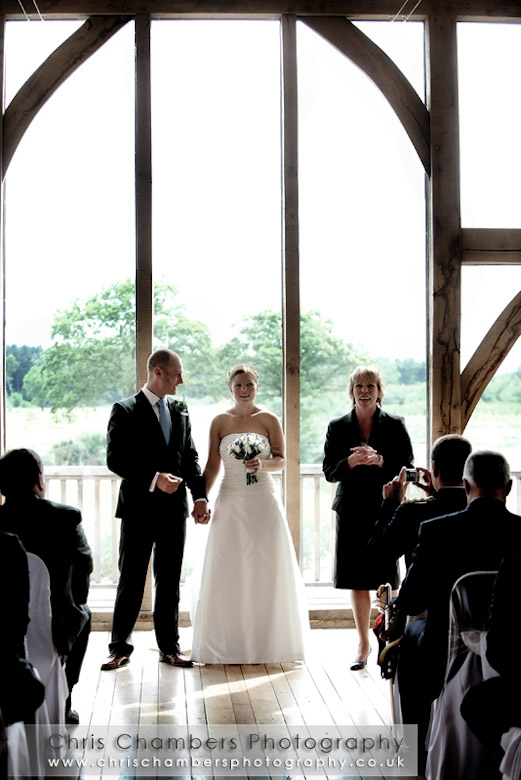Sandburn Hall civil wedding ceremony