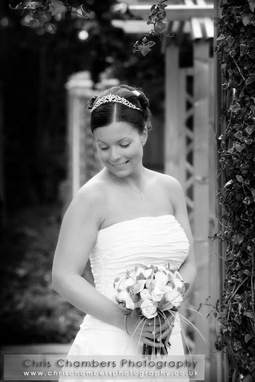 The bride at Sandburn Hall