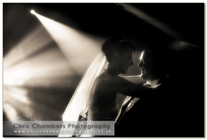 Wedding photography at Walton Hall Wakefield West Yorkshire. Photographer Chris Chambers is recommended by Walton Hall
