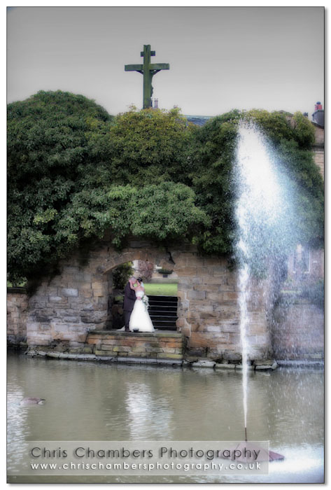Wakefield wedding photographer at Walton Hall
