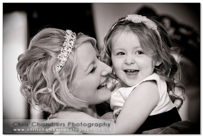 Bridal photography at Walton Hall