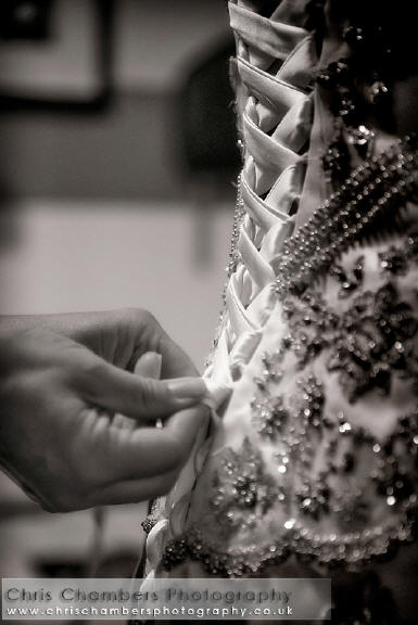 Bridal preparation photographs