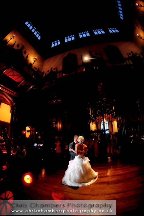 First Dance at Allerton Castle Noreth Yorkshire