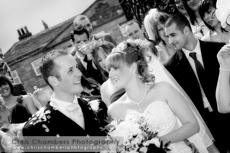 wedding celebrations at Walton Hall