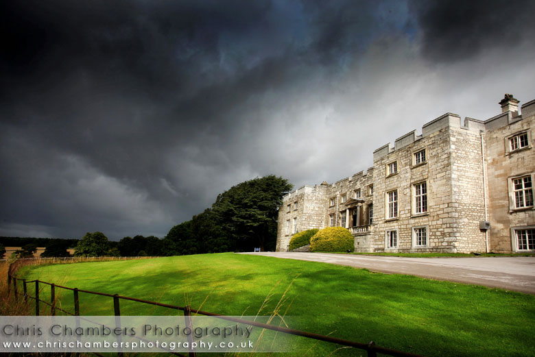 Hazlewood Castle on the outskirts of York between Tadcaster and Leeds. North Yorkshire wedding venue
