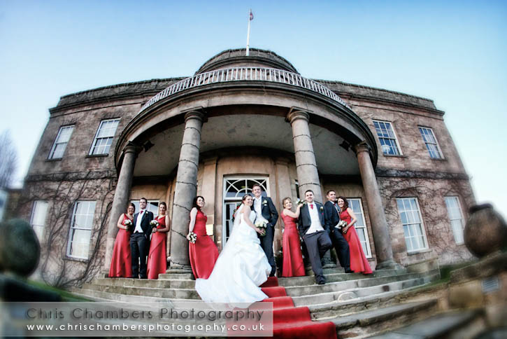 Wood Hall Hotel wedding venue in North Yorkshire, wedding photography from Chris Chambers