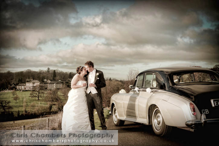 Wood Hall hotel wedding photography from Chris Chambers