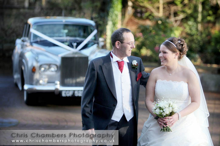 St mary's Church Garforth wedding photography from Chris Chambers