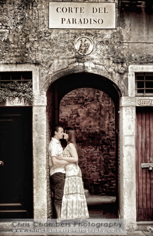 Pre-wedding shot in Venice Italy
