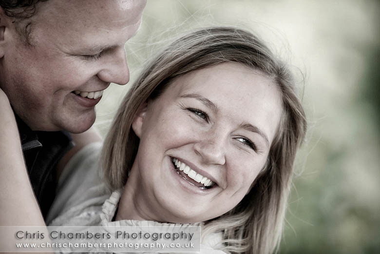 Matt and Michala's pre-wedding photo shoot at Waterton Park near Wakefield