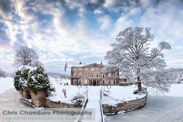 Walton Hall at Waterton park in Wakefield. Wedding venue in West Yorkshire. Wedding photography from Chris Chambers, West Yorkshire wedding photographer